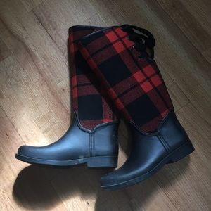 COACH Tristee Wool Lined Rain Boots
